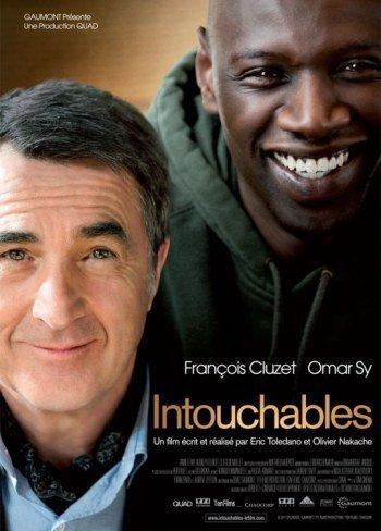 'Intocable', carteles y tráiler del último éxito del cine francés