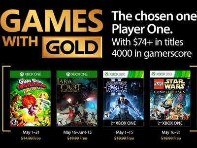 Lara Croft y el templo de Osiris y LEGO Star Wars  the Complete Saga entre los Games with Gold de mayo