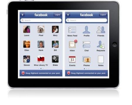 Facebook lanzaría su aplicación para iPad en el evento de Apple este 4 de octubre