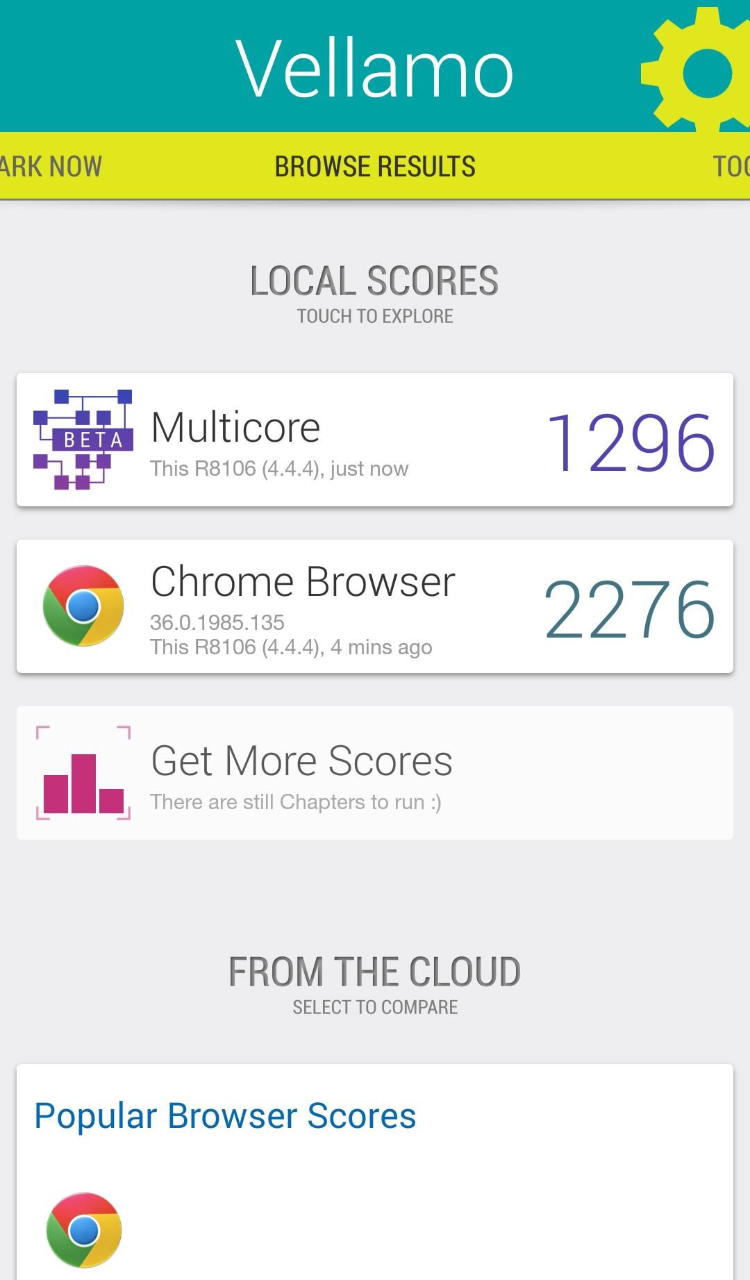 Foto de Oppo R5 benchmarks (7/11)