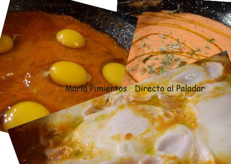 Hacemos huevos en tomate