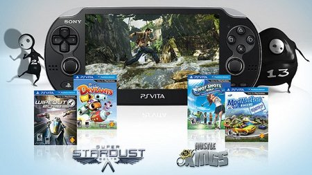 Catálogo de lanzamiento PS Vita en Estados Unidos