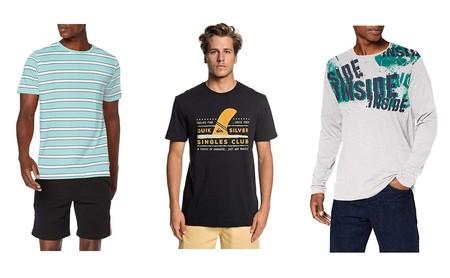 16 chollos en camisetas por menos de 10 euros de marcas como Lee, Jack & Jones, Mustang, Inside, G-STAR, Esprit, Pepe Jeans o Superdry disponibles en Amazon