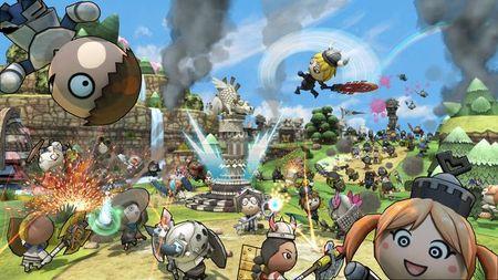 Con un ligero retraso, ya tenemos en Xbox Live 'Happy Wars', el primer free-to-play de Xbox Live Arcade