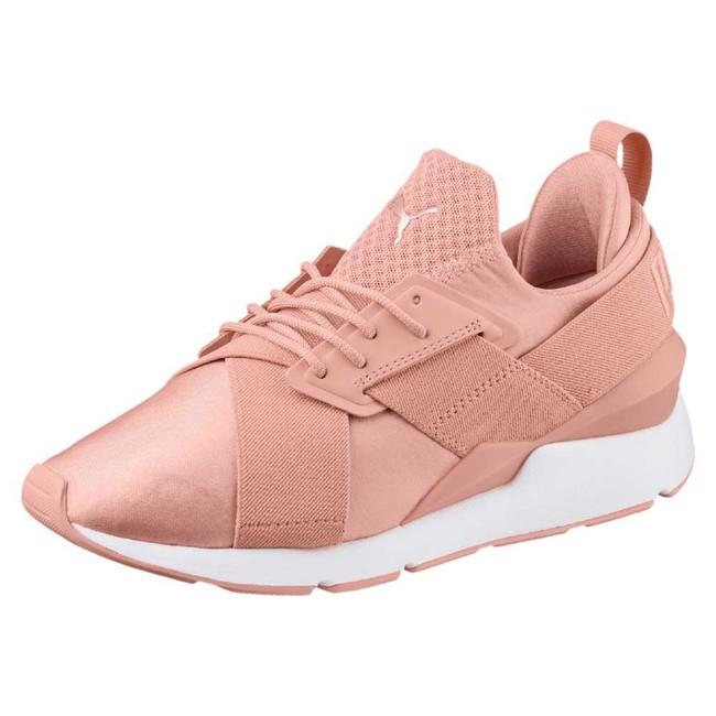 Por 51,45 euros podemos hacernos con estas zapatillas Puma Select Muse Satin EP en Dressin