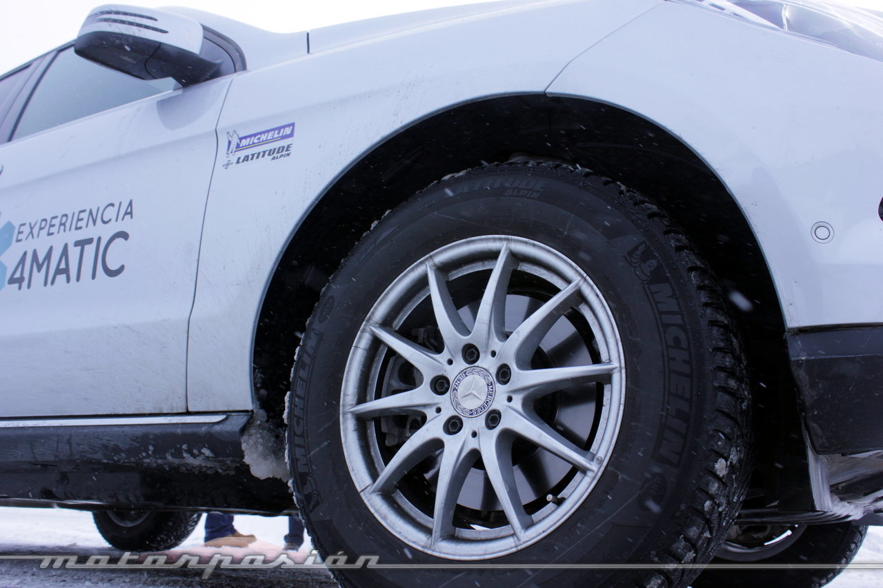 Foto de Michelin Pilot Alpin y Michelin Latitude Alpin, Experiencia 4Matic (21/27)
