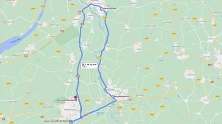 recorrido 120 kms