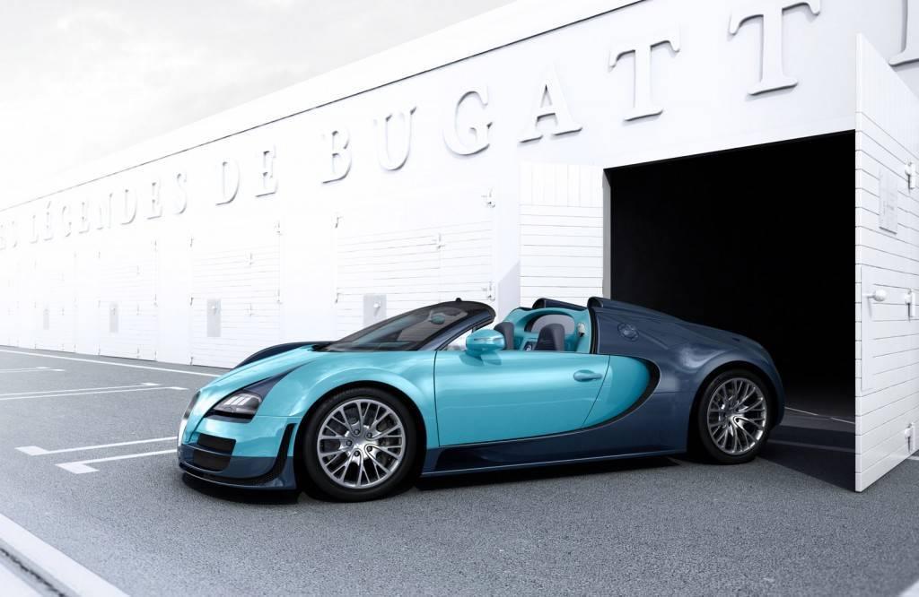 Foto de Bugatti Veyron Legend Jean-Pierre Wimille (1/10)
