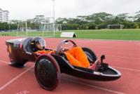 En Singapur, el coche eléctrico-solar directamente se imprime