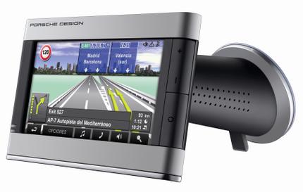 Navegador GPS de Porsche