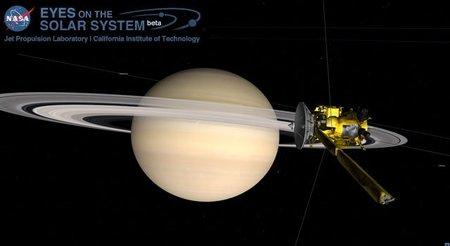 Nueva herramienta web para explorar el Sistema Solar