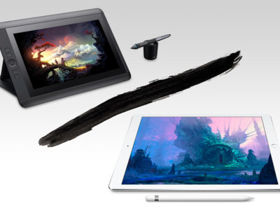 El iPad Pro y el Apple Pencil se lo ponen difícil a la Wacom Cintiq 13HD