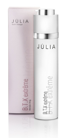 Júlia  presenta un nuevo tratamiento: B.T.X Extrême