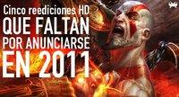 Cinco reediciones HD que faltan por anunciarse en 2011