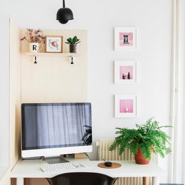 Ocho ideas originales para decorar con fotos tu rincón de trabajo y hacerlo más agradable