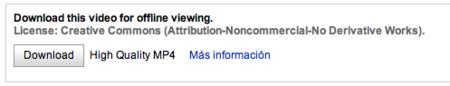 Youtube también implementa un modo offline