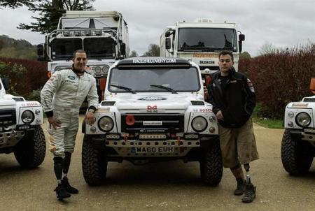 Race2Recovery, un equipo muy especial para el Dakar
