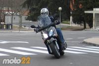 Prueba de la Yamaha X-City 125 (1/4)