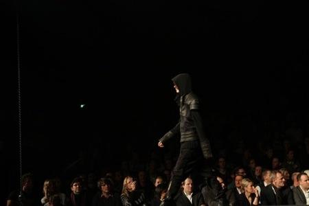 Colección Diesel Otoño-Invierno 2010/2011 Fashion Show en el Bread & Butter en Berlín. Cuero
