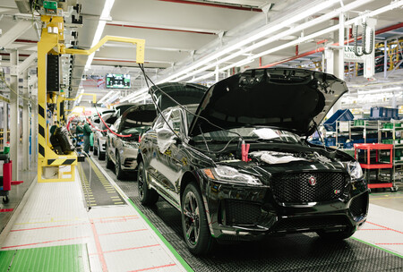 Jaguar Land Rover Produccion Fabrica