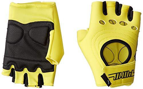Puma Cosmic - Guantes de fitness para mujer, color amarillo neón, tamaño medium