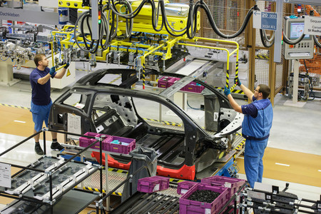 Fabricación de coches - Mercado de turismos