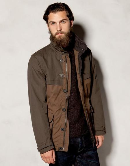 Parka impermeable Heritage Pull&Bear