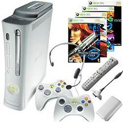 Pack de Xbox 360, dos mandos y cuatro juegos