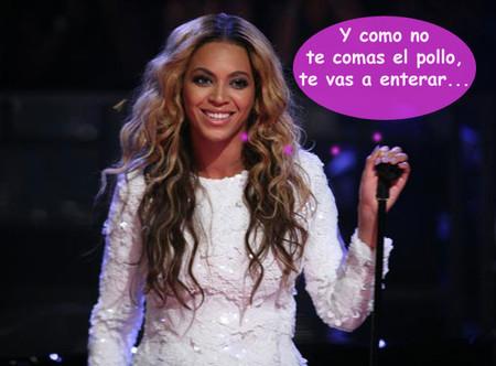 A Beyoncé le sale la mamá que lleva dentro... ¡y le pega la bronca a un fan!