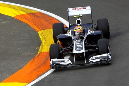 Pastor Maldonado vuelve a liderar una sesión de libres en la primera de Valencia
