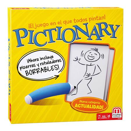 Mattel Games Pictionary Juegos De Mesa