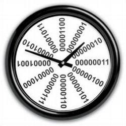 Binary Clock para la cocina geek