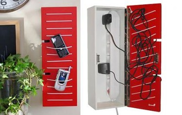 Contactbox: Carga tus aparatos electrónicos y guárdalos