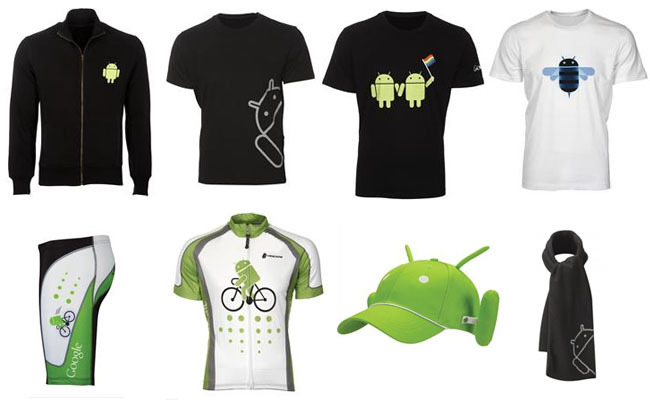 Ropa y complementos Android