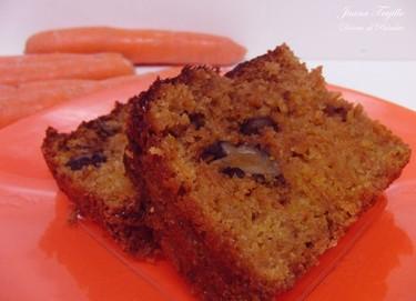 Cake de zanahorias. Receta de postres