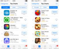 iOS 7.1.1 coloca los avisos de compras integradas bajo su precio en la App Store