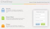 ChatStep, salas de chat anónimas, cifradas y desechables