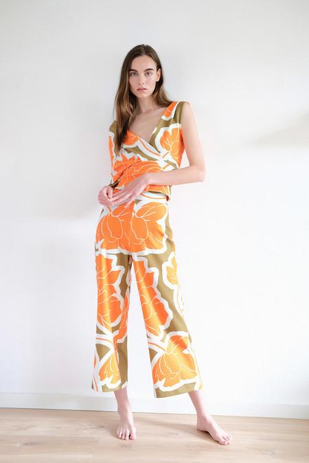 Pantalones Verano 2020 Flores 01