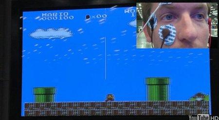 Controlar a 'Super Mario Bros' con los ojos ya es posible... y raro