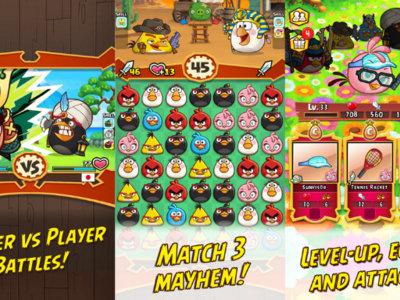 Angry Birds Fight! Rovio anuncia su particular clon del ZooKeeper Battle
