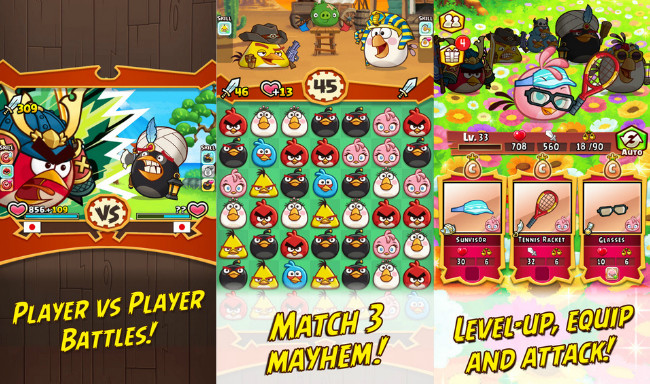Angry Birds Fight! Rovio Announces Their Particular Clone of The ZooKeeper Battle