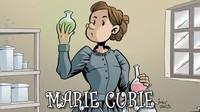 Marie Curie, la actividad del radio es un cómic en busca de financiación en Lánzanos