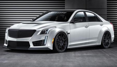 Hennessey Cadillac CTS-V HPE 1000: planeando ser la berlina más rápida del mundo