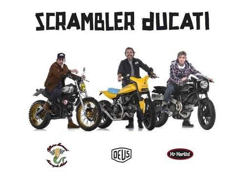 Ducati Scrambler, ahora las versiones custom