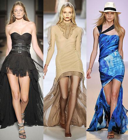 1131d24a4c Tendencias en faldas primavera-verano 2009  cortas por delante ...