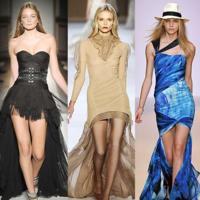 Tendencias en faldas primavera-verano 2009: cortas por delante, largas por detrás
