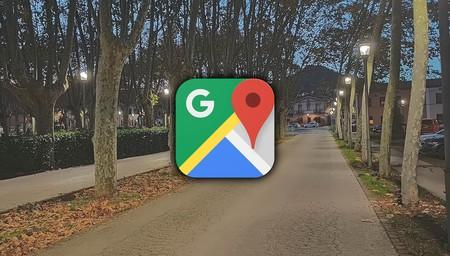 Google Maps iluminación