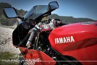 Aquellas maravillosas motos: prueba Yamaha TRX 850 (conducción)