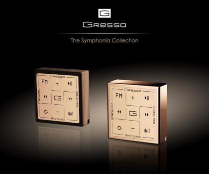 Reproductor MP3 de 5.000 dólares: madera africana y oro