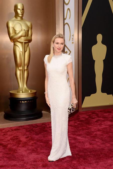 Naomi Watts deslumbra en la 86 Edición de los Oscar vestida por Francisco Costa y adornada por Bvlgari